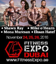 Fitness Expo Dubai 2016 - The World's Largest Fitness Expo in UAE