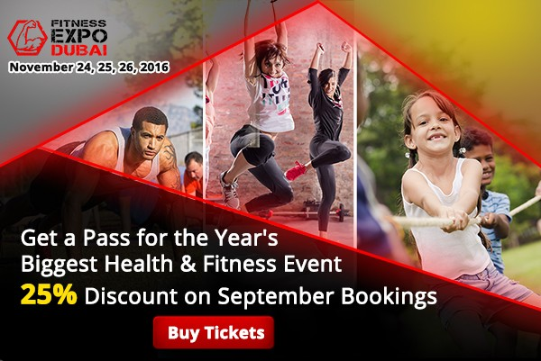 Get Fitness Expo Dubai 2016 Tickets