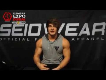 Jeff Seid Will be at the Fitness Expo Dubai 2016, November 24-26, 2016