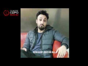 Umair Jaswal Message for Fitness Expo Dubai visitors