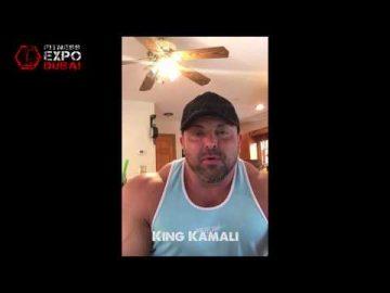 King Kamali Message for Fitness Expo Dubai Visitor